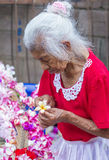 Flower & Palm Festival in Panchimalco, El Salvador Royalty Free Stock Photography