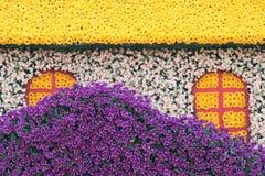 Flower parterre Stock Photo