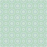 Flower Pastel Daisies Pattern Seamless Vector Blue royalty free illustration