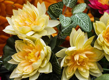 Flower Pastic. Candle Festival Loei Thailand June 28, 2014 Royalty Free Stock Photos
