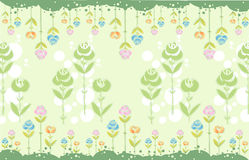 Flower pattern Stock Photo