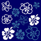 Flower pattern. Vectorial flower pattern - Ornamental pattern stock illustration
