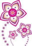 Flower pattern. Stock Vector Illustration Stock Photos