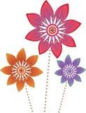 Flower pattern. Stock Vector Illustration Stock Images