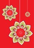 Flower pattern. Stock Vector Illustration Royalty Free Stock Photo
