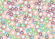 Flower pattern 4 Royalty Free Stock Photo