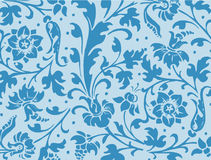 Flower pattern. Pattern with girlish floral arrangement stock illustration