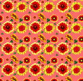 Flower pattern as background Royalty Free Stock Photos