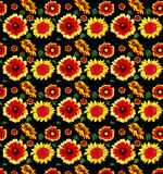 Flower pattern as background Stock Image