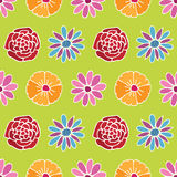 Flower pattern background Stock Photo