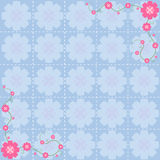 Flower pattern background design Stock Photos
