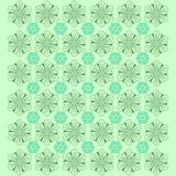 Creative Flower Pattern Background - Vector vector illustration