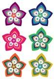 Flower pattern background Royalty Free Stock Image