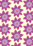 Flower pattern background Royalty Free Stock Image