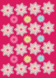 Flower pattern background Royalty Free Stock Photo