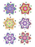 Flower pattern background Stock Image