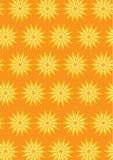 Flower Pattern Background Set Royalty Free Stock Photography