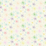 Flower Pattern_Color 04 Stock Photography