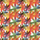 Flower pattern. Colorful abstract flowers pattern, vector Stock Photography