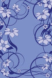 Flower pattern decoratively Stock Photo