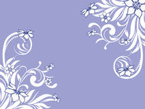 Flower pattern decoratively. Romantically abstraction illustration Royalty Free Stock Images