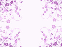 Flower pattern decoratively. Romantically abstraction illustration Stock Photos
