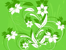 Flower pattern decoratively Royalty Free Stock Photos