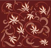 Flower pattern , element for design Royalty Free Stock Image