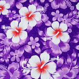 Flower pattern on the fabric Royalty Free Stock Photography