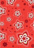 Flower Pattern. With illustration style design Stock Image