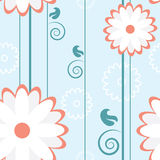 Flower Pattern Lines Stock Photo