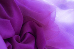 Flower pattern made of violet-pink fabric royalty free stock photo