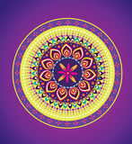 Flower pattern mandala Royalty Free Stock Image