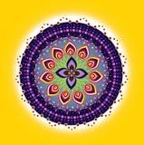 Flower pattern mandala Royalty Free Stock Photo