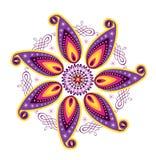 Flower pattern mandala Royalty Free Stock Photos