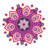 Flower pattern mandala Stock Image