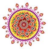 Flower pattern mandala Royalty Free Stock Photography