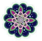 Flower pattern mandala Stock Image