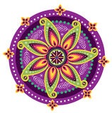 Flower pattern mandala Stock Photography