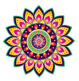 Flower pattern mandala Royalty Free Stock Photo
