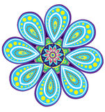 Flower pattern mandala Stock Photos