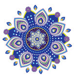 Flower pattern mandala Stock Images