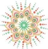 Flower pattern mandala Royalty Free Stock Images