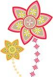 Flower pattern mandala Stock Photography