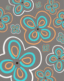 Flower pattern. Nature background Stock Images