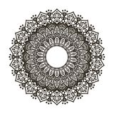 Flower with a pattern, ornament Royalty Free Stock Image