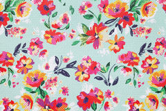 Flower pattern paper. Close up of flower pattern paper Royalty Free Stock Image
