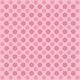 Flower pattern on pink background Royalty Free Stock Photography