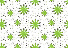 Flower pattern seamless Stock Images