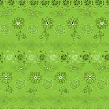 Flower pattern seamless Stock Photo